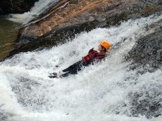 Waterslide. Photo courtesy of Highland Sports Travel.