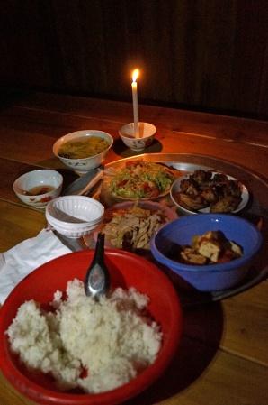 A good dinner.