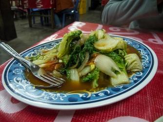 Stirfried vegetables.